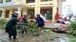 Trường học Quảng Bình hư hỏng nặng, thiệt hại trên 200 tỷ đồng vì bão số 10