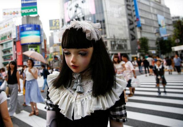 Bí ẩn 'búp bê sống' nổi tiếng khắp Nhật Bản
