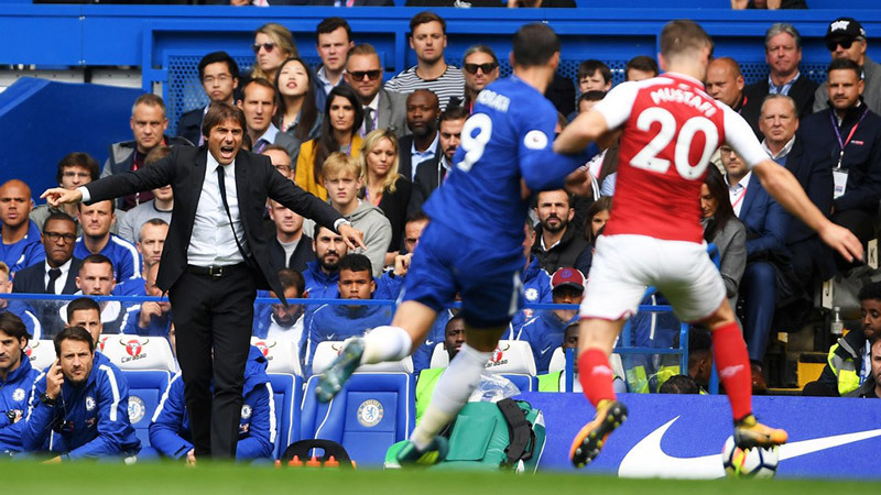 Chelsea, Conte, Antonio Conte, Arsenal, David Luiz, Premier League