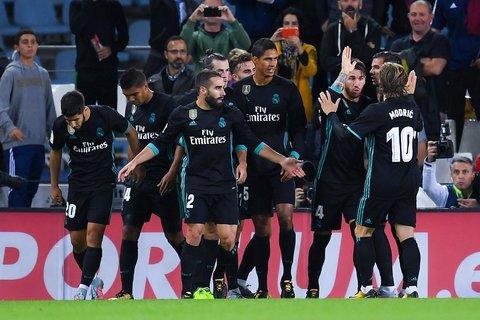 Sociedad 1-3 Real Madrid