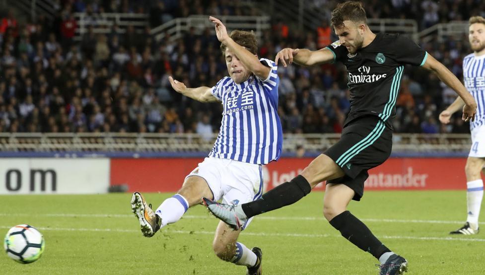Real Madrid, Sociedad, Bale, La Liga