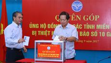 Ngành TT&TT ủng hộ đồng bào miền Trung khắc phục thiệt hại bão số 10
