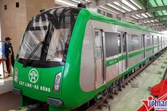 Đường sắt trên cao Cát Linh-Hà Đông phá sản chạy thử