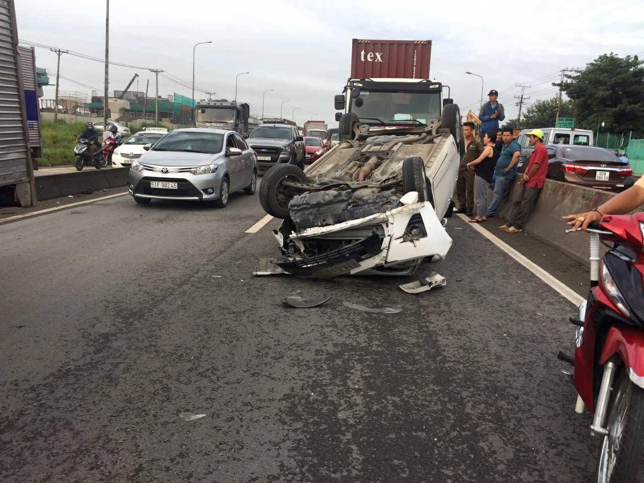 tai nạn, quốc lộ 1, Bình Dương,tai nạn giao thông