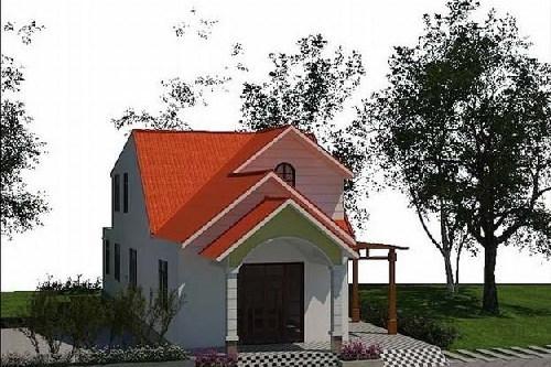 Hút hồn 10 mẫu nhà cấp 4 gác lửng mái thái tuyệt đẹp
