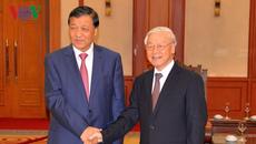 Tổng bí thư tiếp Bí thư Ban Bí thư Trung Quốc