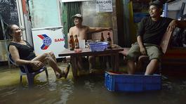 Dự báo thời tiết 19/9: Triều cường lên, Sài Gòn nguy cơ ngập sâu