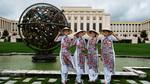 Rực rỡ sắc màu thời trang Việt ở Trụ sở Liên hiệp quốc tại Geneve