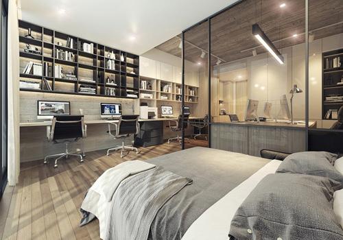 Officetel Lancaster Lincoln - Sống trọn đam mê theo phong cách Mỹ
