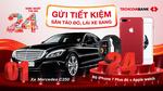 Cơ hội trúng xe Mercedes khi gửi tiết kiệm ở Techcombank