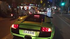 Chạm mặt siêu xe Lamborghini Murcielago LP640 xanh cốm tại Hà Nội