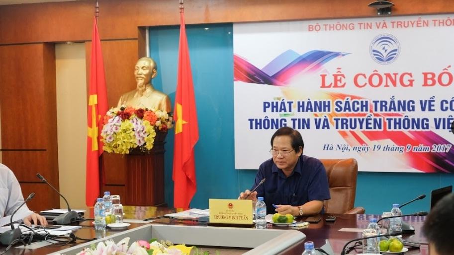 Phát hành 'Sách Trắng CNTT&TT Việt Nam 2017'