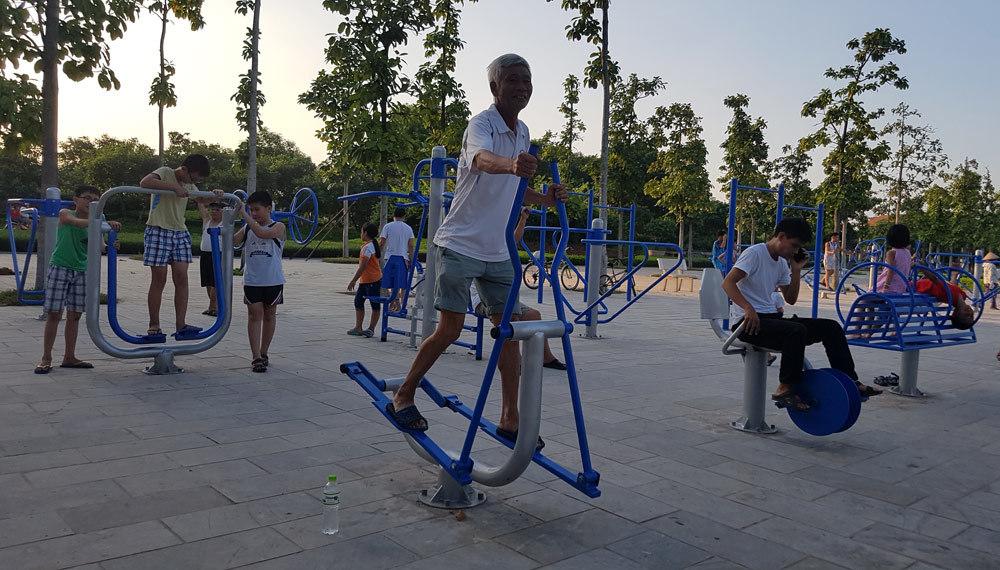 tập gym, thể thao ngoài trời, Vĩnh Yên