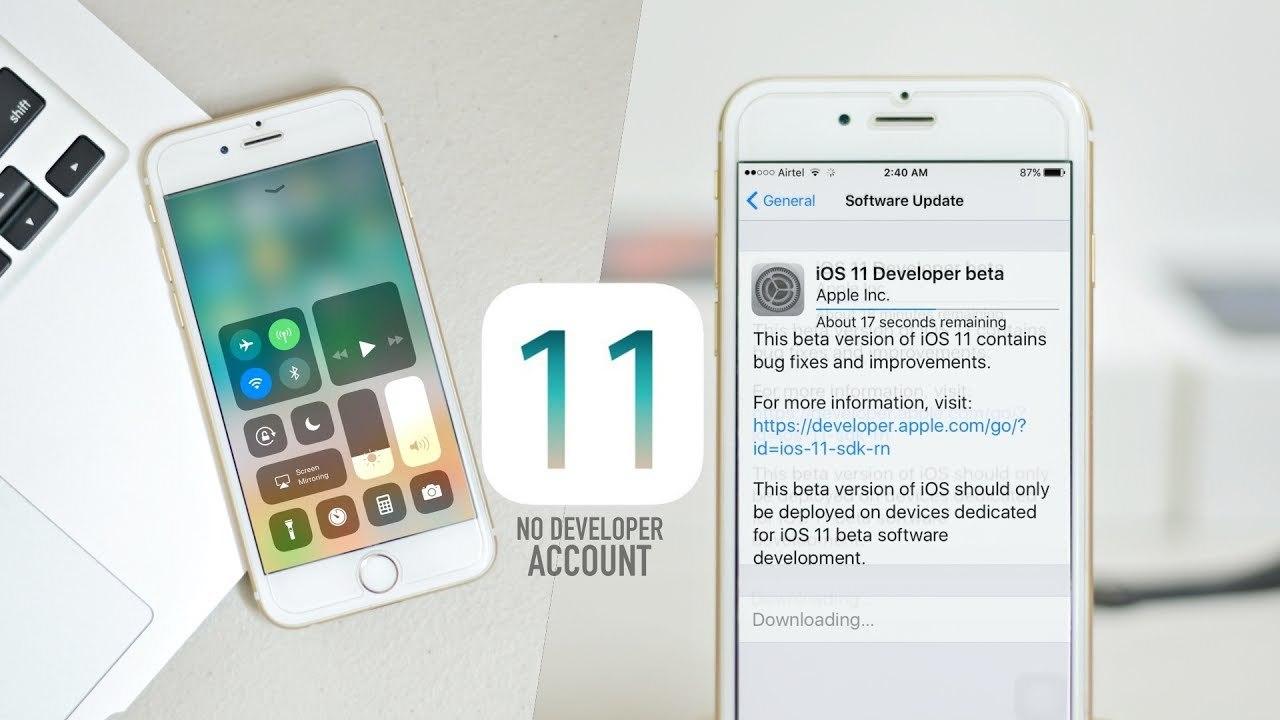 iOS 11 chinh thuc