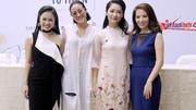 Lần đầu tiên 30 biên tập viên của VTV diễn thời trang
