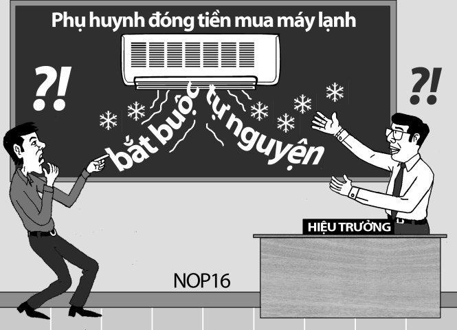 lạm thu, lạm thu đầu năm học