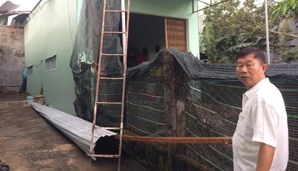 Lốc xoáy, tốc mái nhà, Gia Lai, Lâm Đồng