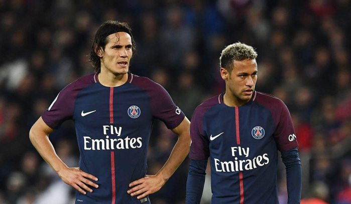 Neymar, Cavani, PSG, Ligue 1