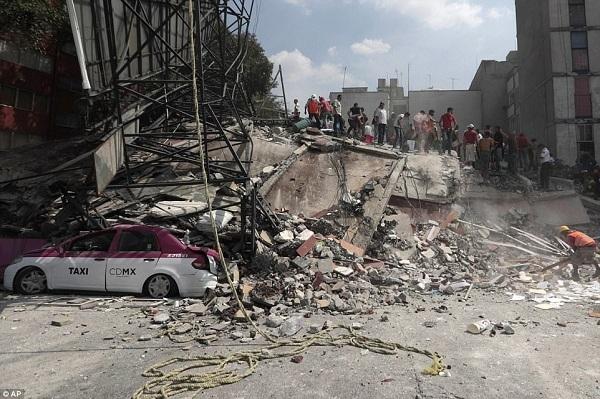 Động đất Mexico - Cơn ác mộng lặp lại sau 32 năm