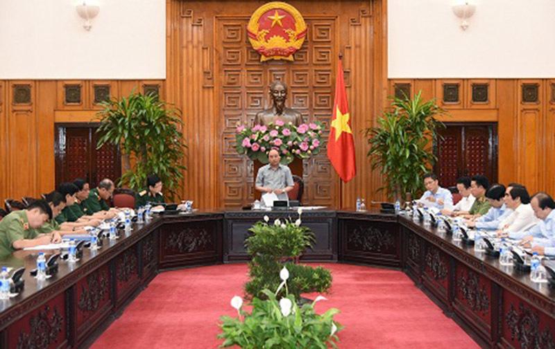 Thủ tướng Nguyễn Xuân Phúc, Nguyễn Xuân Phúc, an ninh quốc phòng