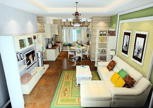 nội thất, thiết kế nhà, phòng khách, phòng bếp