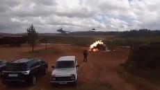 Trực thăng 'cá sấu' Nga thả tên lửa nhầm mục tiêu