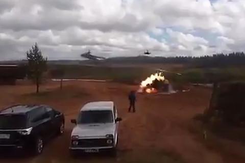 'Cá sấu' Ka-52 của Nga tấn công nhầm mục tiêu
