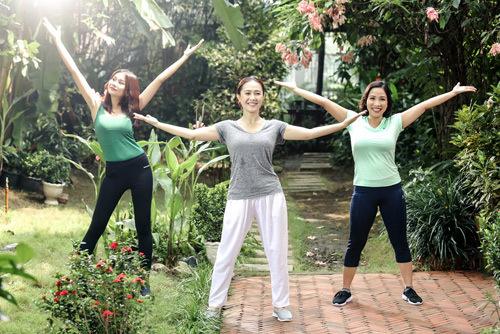 '5 phút mỗi ngày' của Thanh Hằng, Mỹ Linh đốn tim khán giả