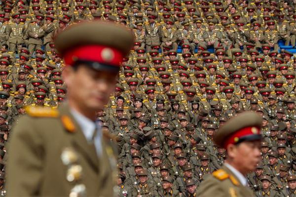 Những hình ảnh Triều Tiên khiến mọi người 'lác mắt'