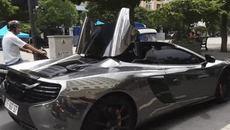Ngắm siêu xe McLaren 22 tỷ đồng của Cường Đô La 'biến hình' ngay trên phố
