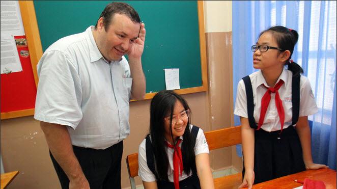 học tiếng Anh, dạy tiếng Anh, học sinh