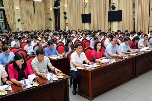 Hà Nội bỏ phiếu giới thiệu cán bộ chủ chốt nhiệm kỳ tới