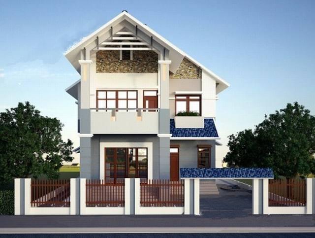 nhà đẹp, thiết kế nhà, chi phí xây nhà