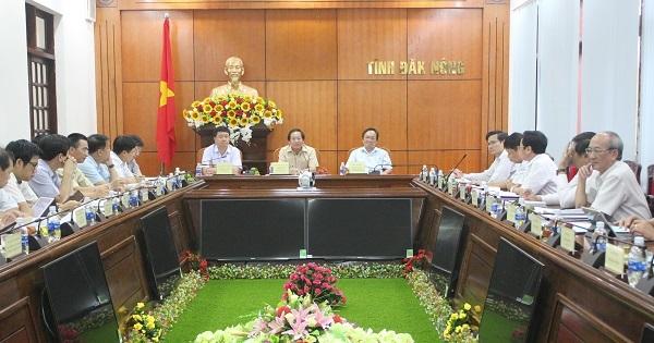 Bộ trưởng Trương Minh Tuấn làm việc, thúc đẩy phát triển TT&TT tại Đắk Nông