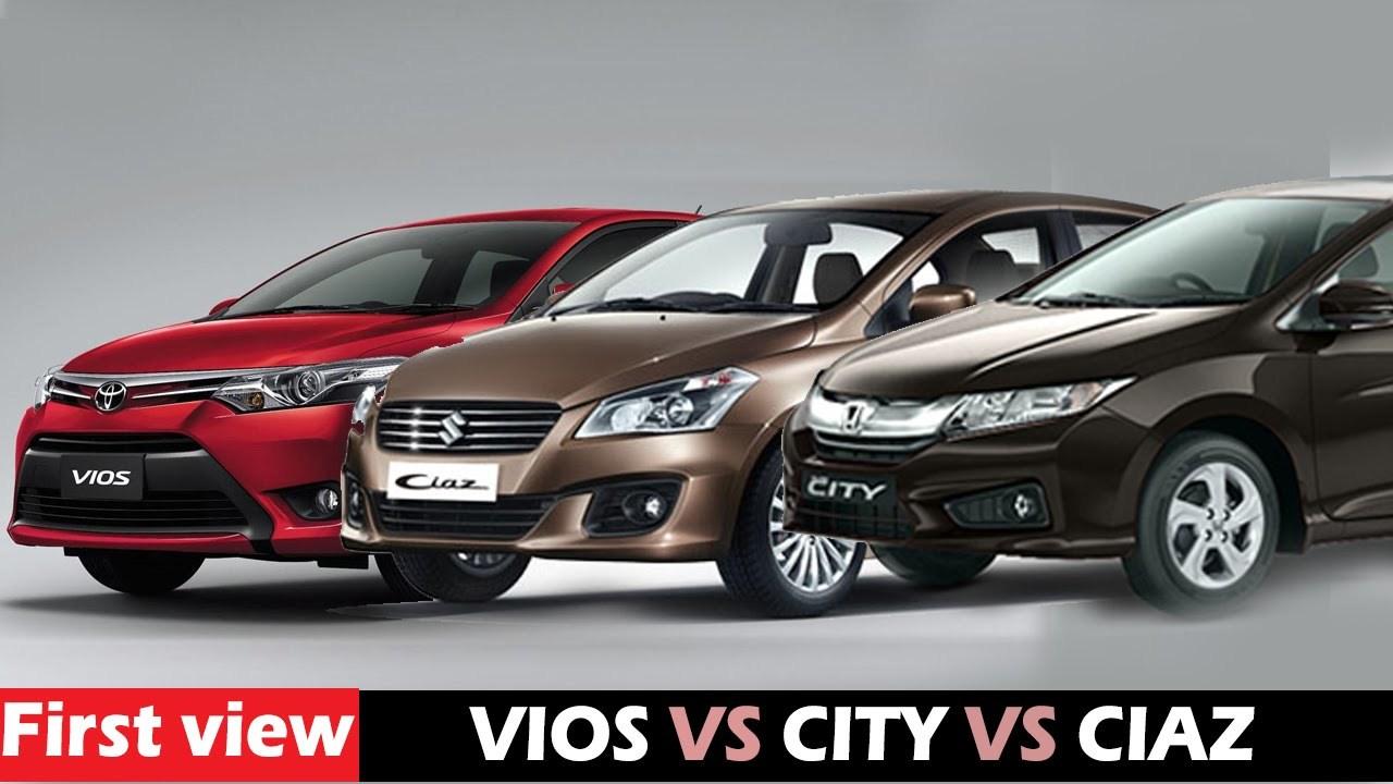 Suzuki Ciaz, Honda City, Toyota Vios, sedan hạng b, ô tô giảm giá, ô tô nhập khẩu,