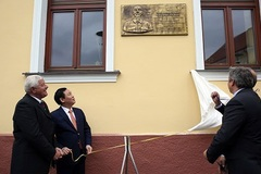Thị trấn Horne Saliby - Slovakia tôn vinh Chủ tịch Hồ Chí Minh