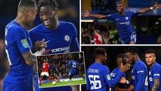 Batshuayi lập hat-trick, Chelsea phô trương sức mạnh