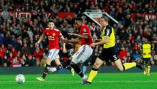 Video bàn thắng MU 4-1 Burton