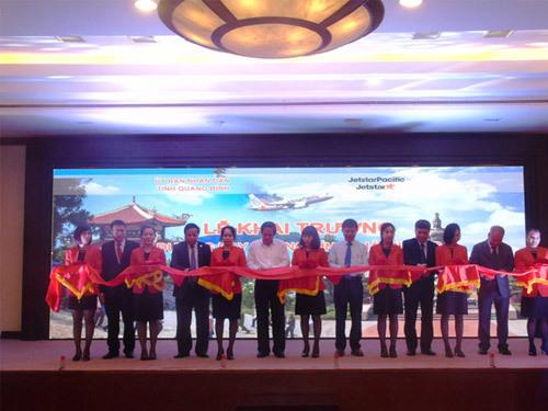 Khai trương đường bay Hải Phòng - Quảng Bình