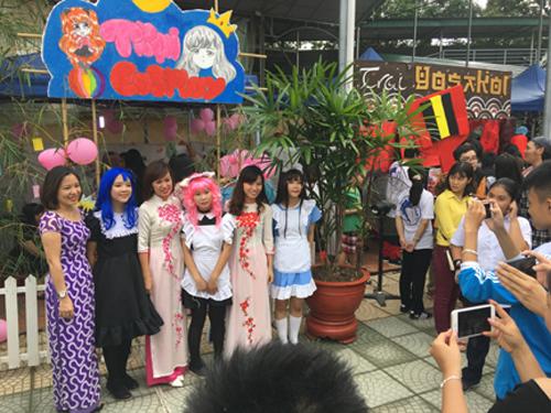 Sôi động Ngày hội văn hoá Nhật Bản