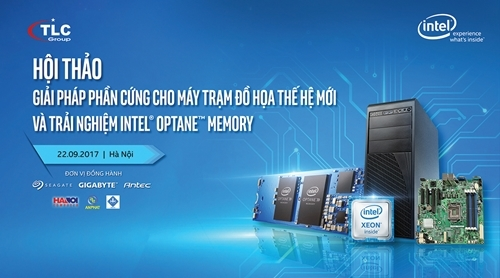 Hội thảo giải pháp phần cứng và trải nghiệm Intel Optane Memory