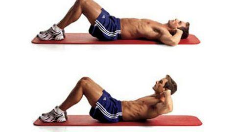 Bài tập gym giúp nam giới bụng bia lấy lại 6 múi