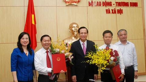 Công bố quyết định bổ nhiệm nhân sự của Thủ tướng