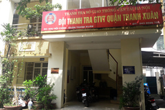 Lý do 'mất tích' của sếp Thanh tra giao thông quận Thanh Xuân