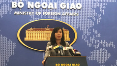 Người phát ngôn nêu rõ quan điểm chống tham nhũng của VN