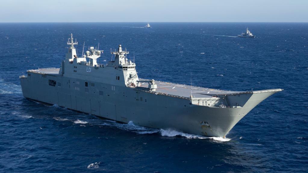 Việt Nam trả lời thông tin Australia điều đội tàu chiến đến Biển Đông