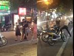 Nghi 'nhìn đểu' người đàn ông bị đánh bầm dập trên phố Hà Nội