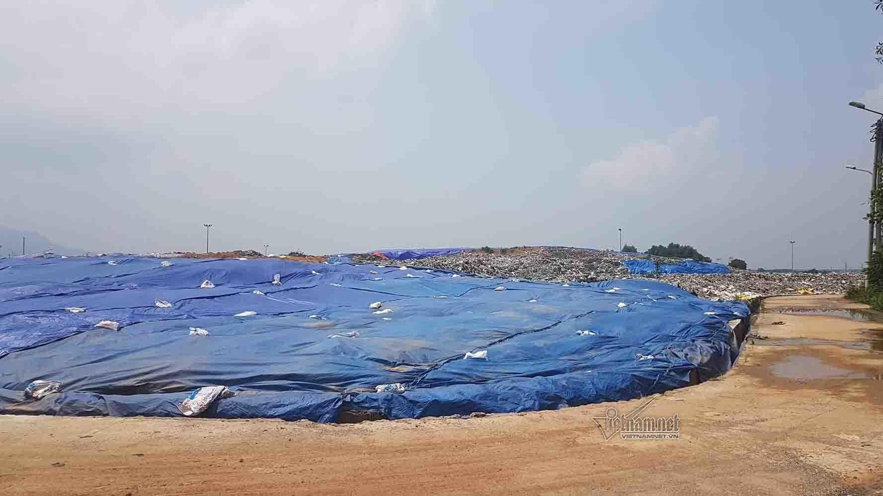 rác, rác thải, môi trường, Sơn Tây, bãi rác Nam Sơn