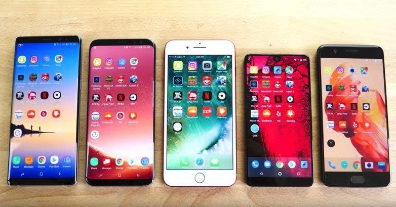 Apple đang sở hữu 'sát thủ' với smartphone Android, mạnh hơn iPhone X