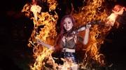 Diễn viên múa lửa: Rộp miệng, rát da… mua vui cho khán giả
